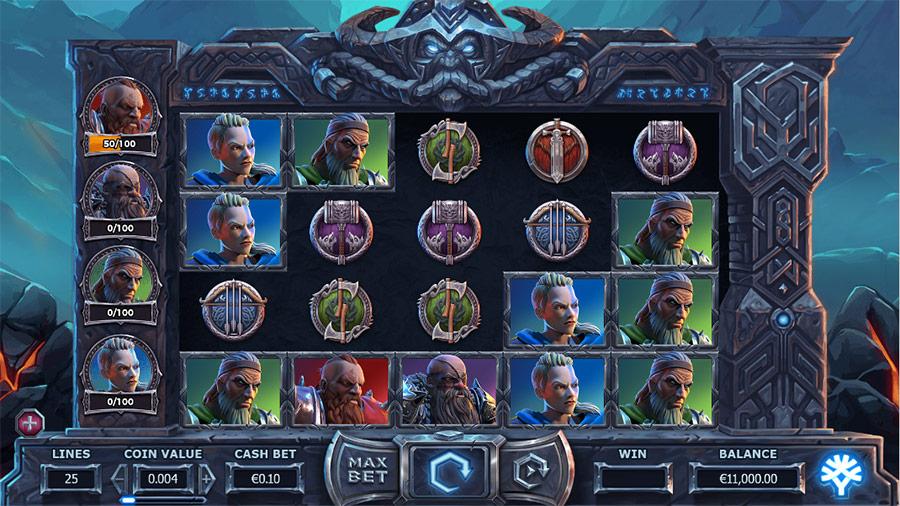 Vikings Go To Hell - basspelet